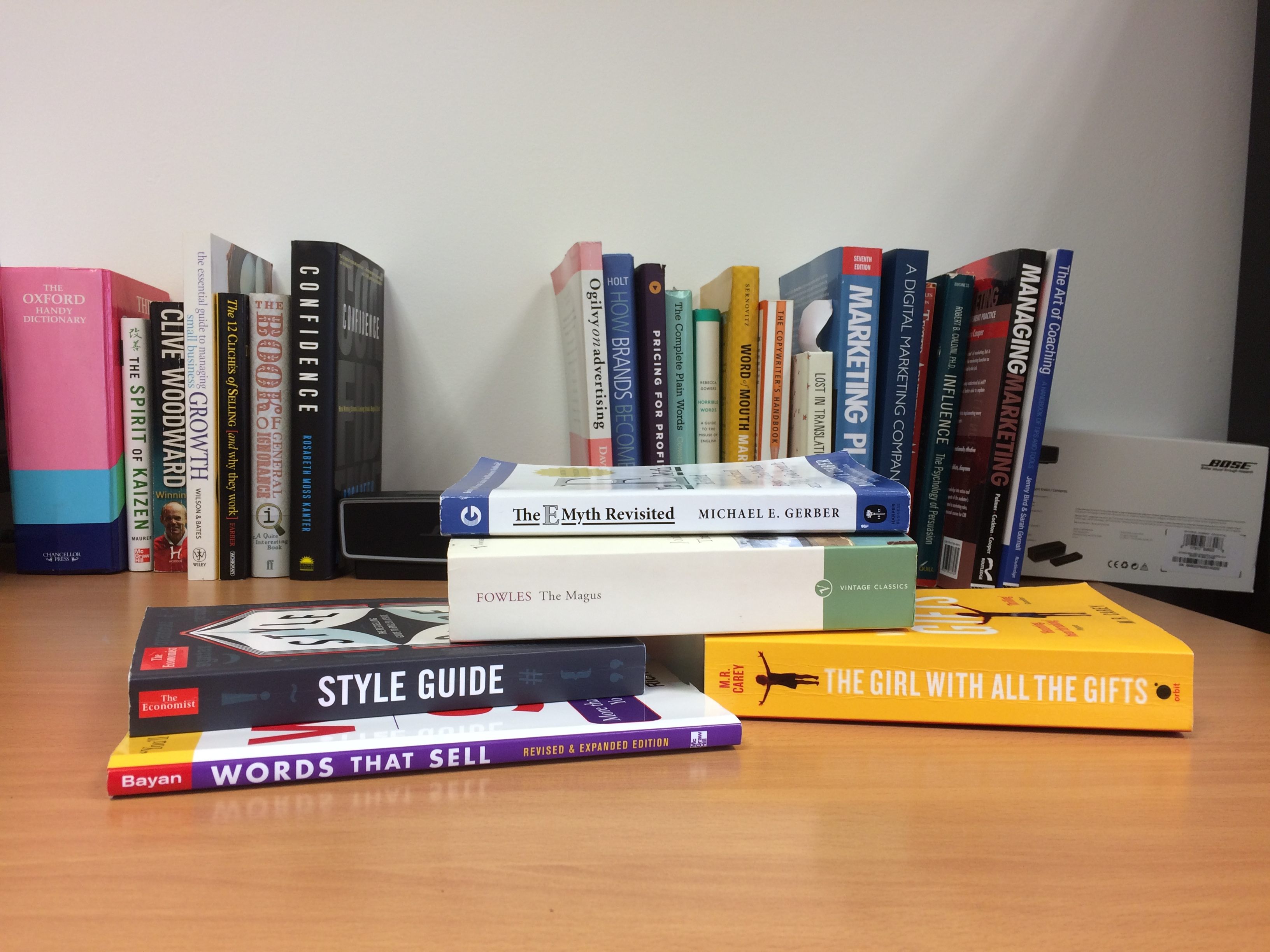 Recommended copywriting books