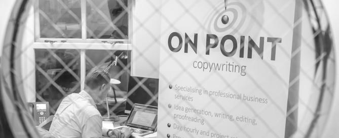 Financial services copywriter