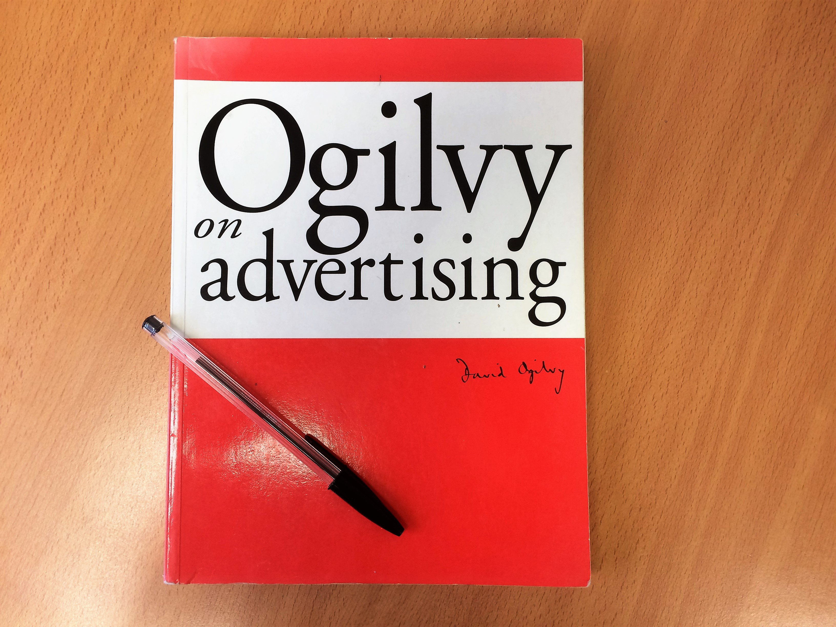 Ogilvy on advertising gives ideas on headlines for blogs and email subject lines